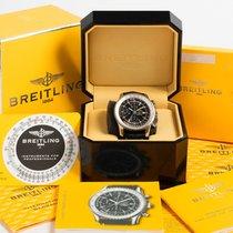 Breitling Navitimer World Stahl 46mm Schwarz Keine Ziffern