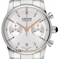 Union Glashütte Seris Otel 38mm Argint