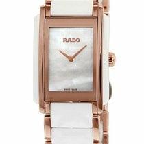 Rado Steel Quartz Mother of pearl 26mm new Integral