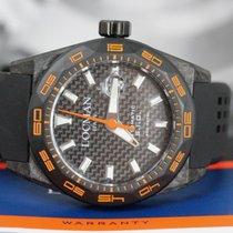 Locman Carbon Automatic Black No numerals 46mm new Stealth