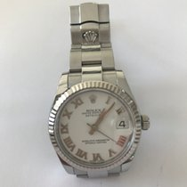 Rolex Lady-Datejust Medium 31, Weißgold Lünette, Oyster...