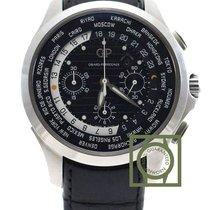 Girard Perregaux Traveller WW.TC Chrono 44mm Black Dial...