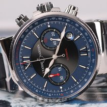 Ulysse Nardin Maxi Marine Chronograph Blue & Black Dial