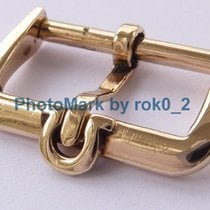 Omega 1957 vintage 9K Solid Yellow GOLD 9ct. 17mm Tang &...