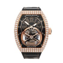 Franck Muller Gravity Skeleton Tourbillon 18K Rose Gold Men's...