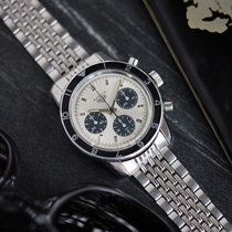 Heuer Steel 39mm Manual winding 2446 C SN pre-owned