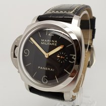 Panerai Special Editions Mens 47mm Left Steel Watch