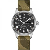 Hamilton Khaki Field Day Date Steel 42mm