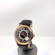 Patek Philippe 37mm Automatic 2014 pre-owned Calatrava Brown