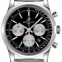 Breitling Transocean Chronograph new Automatic Chronograph Watch with original box AB015212-BF26-154A