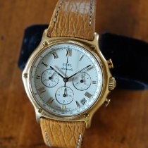 Ebel Yellow gold Automatic White Roman numerals 38mm pre-owned 1911