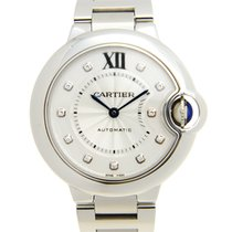 Cartier Ballon Bleu 33mm new Automatic Watch with original box and original papers WE902074