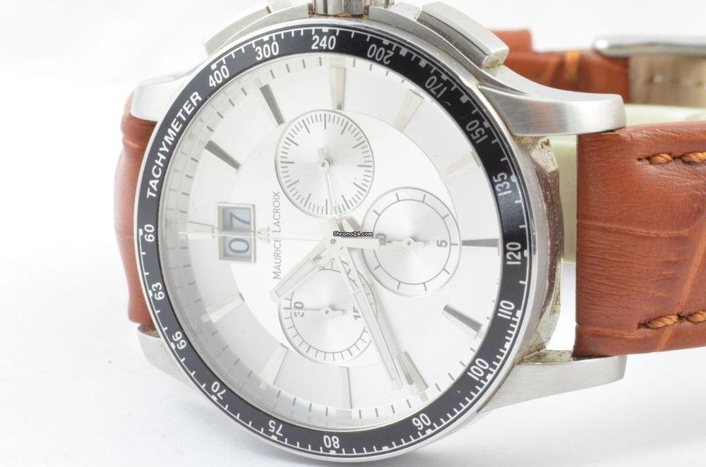 1a54d929dfd7 Maurice Lacroix Mi1098 Miros Chrono Quartz Herren Uhr +... en venta por  chil  342.221 por parte de un Trusted Seller de Chrono24