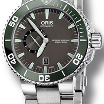 Oris Aquis Small Second Steel 46mm Grey No numerals United States of America, New York, New York