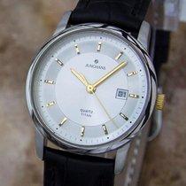 Junghans pre-owned Quartz 29mm Silver Sapphire Glass
