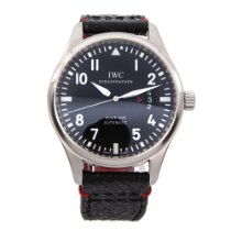 IWC IW326501 Steel Pilot Mark 41mm pre-owned
