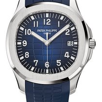 Patek Philippe Aquanaut White gold 42.2mm Blue Arabic numerals United States of America, New York, New York