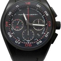 Porsche Design Dashboard Titanium 44mm Black Arabic numerals