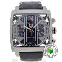 TAG Heuer Monaco Calibre 36 Steel 41mm Arabic numerals