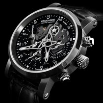Vangarde Chronograph 42mm Automatic 2018 new Black