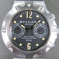 Bulgari Diagono Сталь 38mm Черный