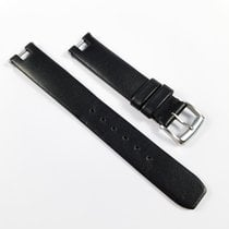 Baume & Mercier Linea Leather strap 14mm black with buckle...