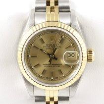 Rolex Lady Datejust LC100 Papiere Stahl Gold Chronometer Jubilee