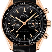 Omega Speedmaster Professional Moonwatch Rose gold 44.2mm Black United States of America, New York, Airmont
