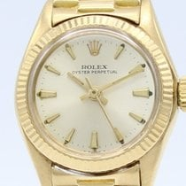 Rolex Oyster  Perpetual 18K Gold Automatic Ladies 6616