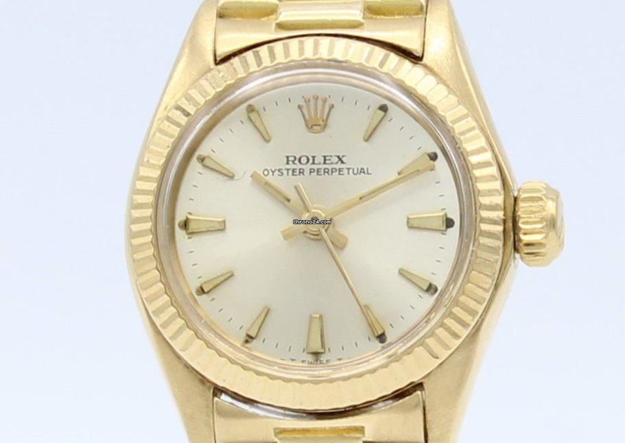 comprar online 8933e 8ec75 Rolex Oyster Perpetual 18K Gold Automatic Ladies 6616