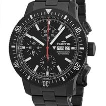 Fortis Chronograph 42mm Automatic new B-42 Monolith Black