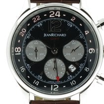"JeanRichard ""Bressel Chronograph GMT Automatic"" 43mm. steel case"