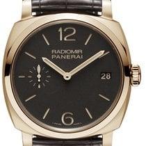 Panerai Radiomir 1940 3 days Oro Rosso 18K Rose Gold Men's...