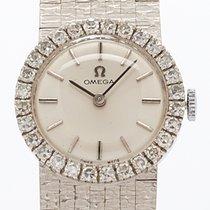 Omega White Gold Ladies Watch