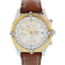 Breitling Chronomat D13048 18K Yellow Gold & S/S