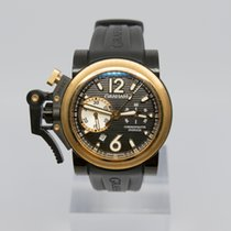 Graham Chronofighter Oversize Goud/Staal