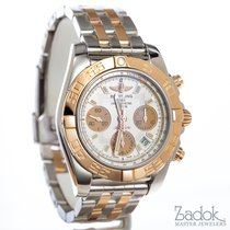 Breitling Chronomat 41 Stainless Steel and 18k Rose Gold Fully...