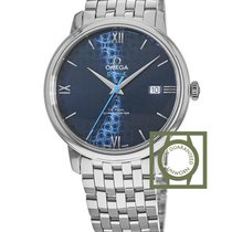 Omega De Ville Prestige Co-Axial 39.5 mm Blue Orbis Steel...