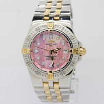 Breitling 30mm Quartz 2006 pre-owned Starliner Mother of pearl