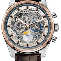Zenith El Primero Chronomaster Gold/Steel Transparent United States of America, New York, Brooklyn
