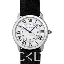 Cartier Ronde Croisière de Cartier neu Automatik Uhr mit Original-Box und Original-Papieren WSRN0021