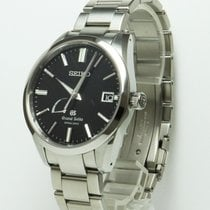 Seiko 40.5mm Automatic pre-owned Grand Seiko Black
