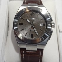 Davidoff Steel 46mm Automatic vidar 11,14,1,110 new