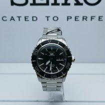 Seiko 5 Sports Сталь 42mm Чёрный