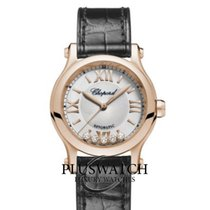 Chopard Red gold Automatic Grey Roman numerals 30mm new Happy Sport