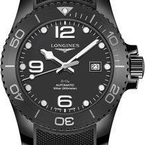 Longines Ceramic Automatic Black 43mm new HydroConquest