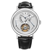 Breguet pre-owned Manual winding Silver 3 ATM