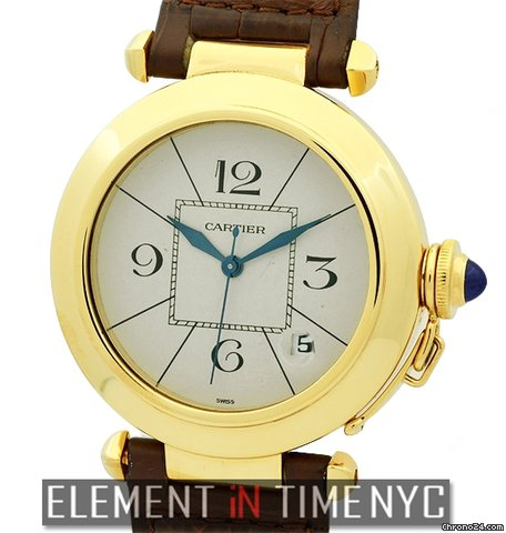 11c57be136af0 Cartier Pasha Collection Pasha 18k Yellow Gold 38mm