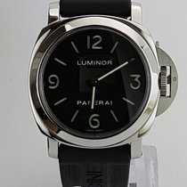 Panerai Luminor Base Stål 44mm Svart Arabiska