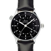 Sinn Steel 38,mm Black Arabic numerals